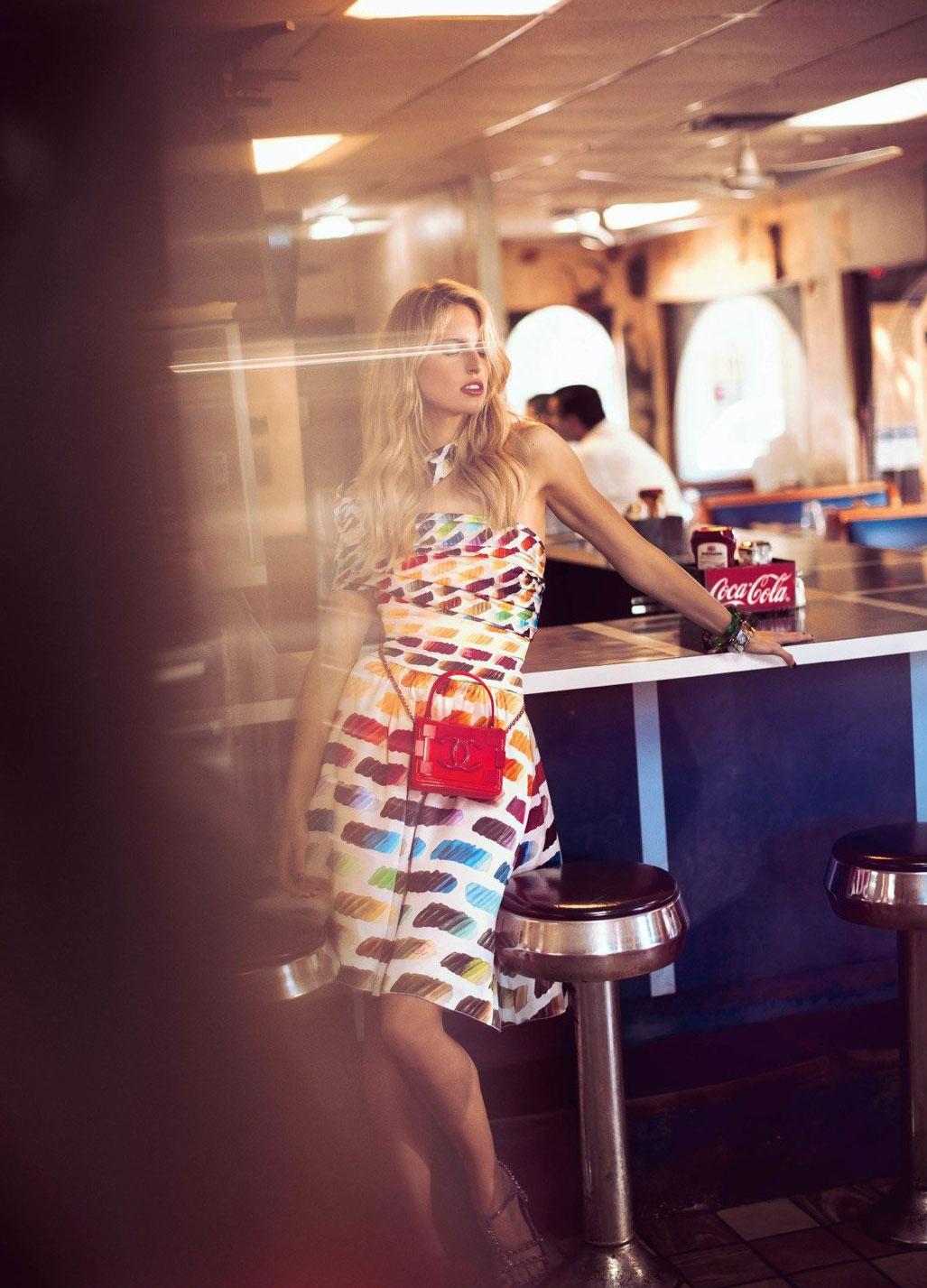 Karolina Kurkova by Koray Birand / Vogue Mexico april 2014 - photo 07