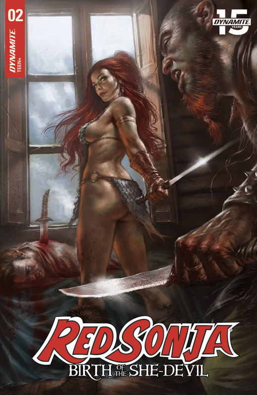 Red Sonja - Birth of the She-Devil #1-4 (2019)
