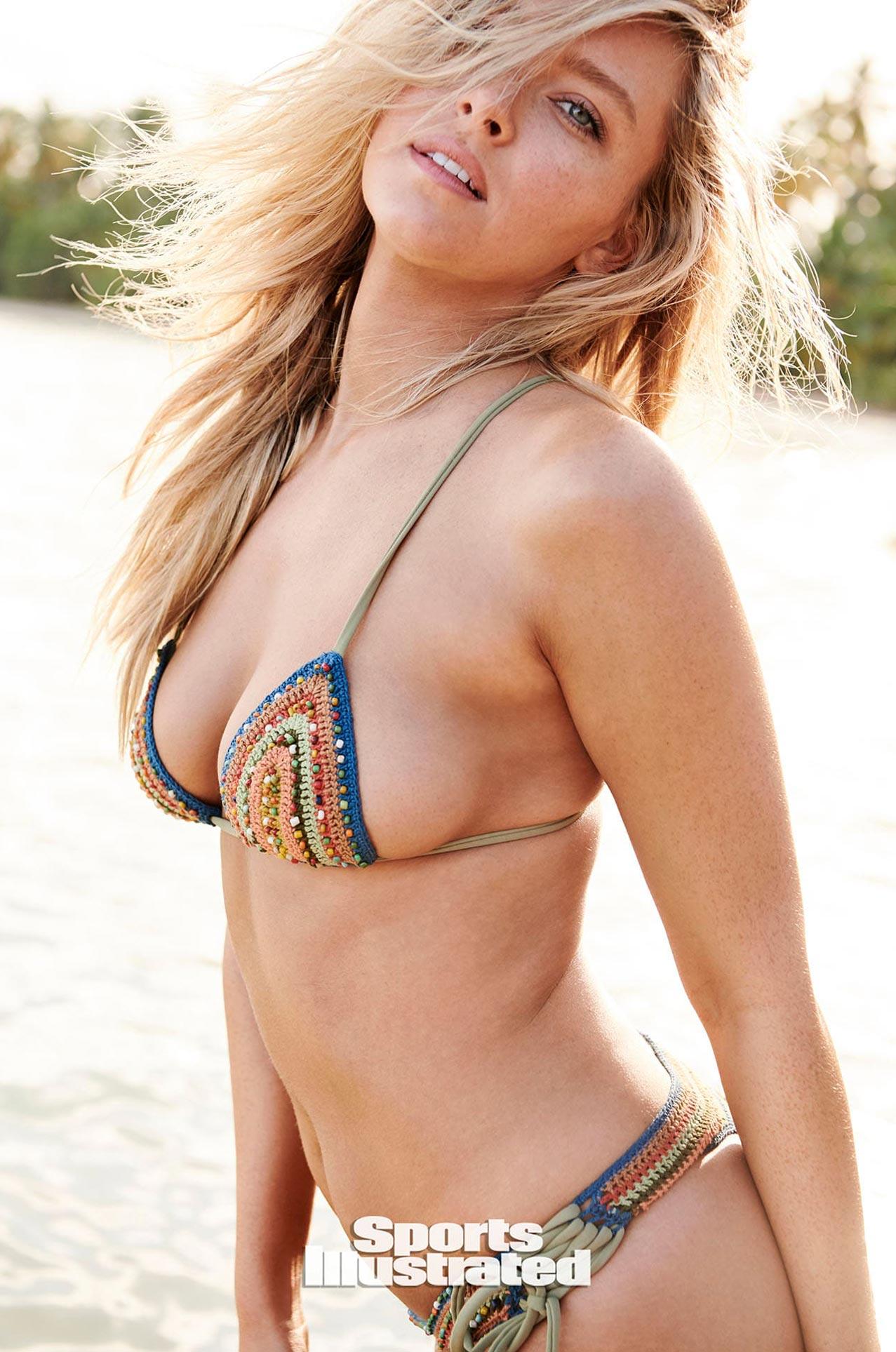 Камилла Костек в каталоге купальников Sports Illustrated Swimsuit 2020 / фото 25