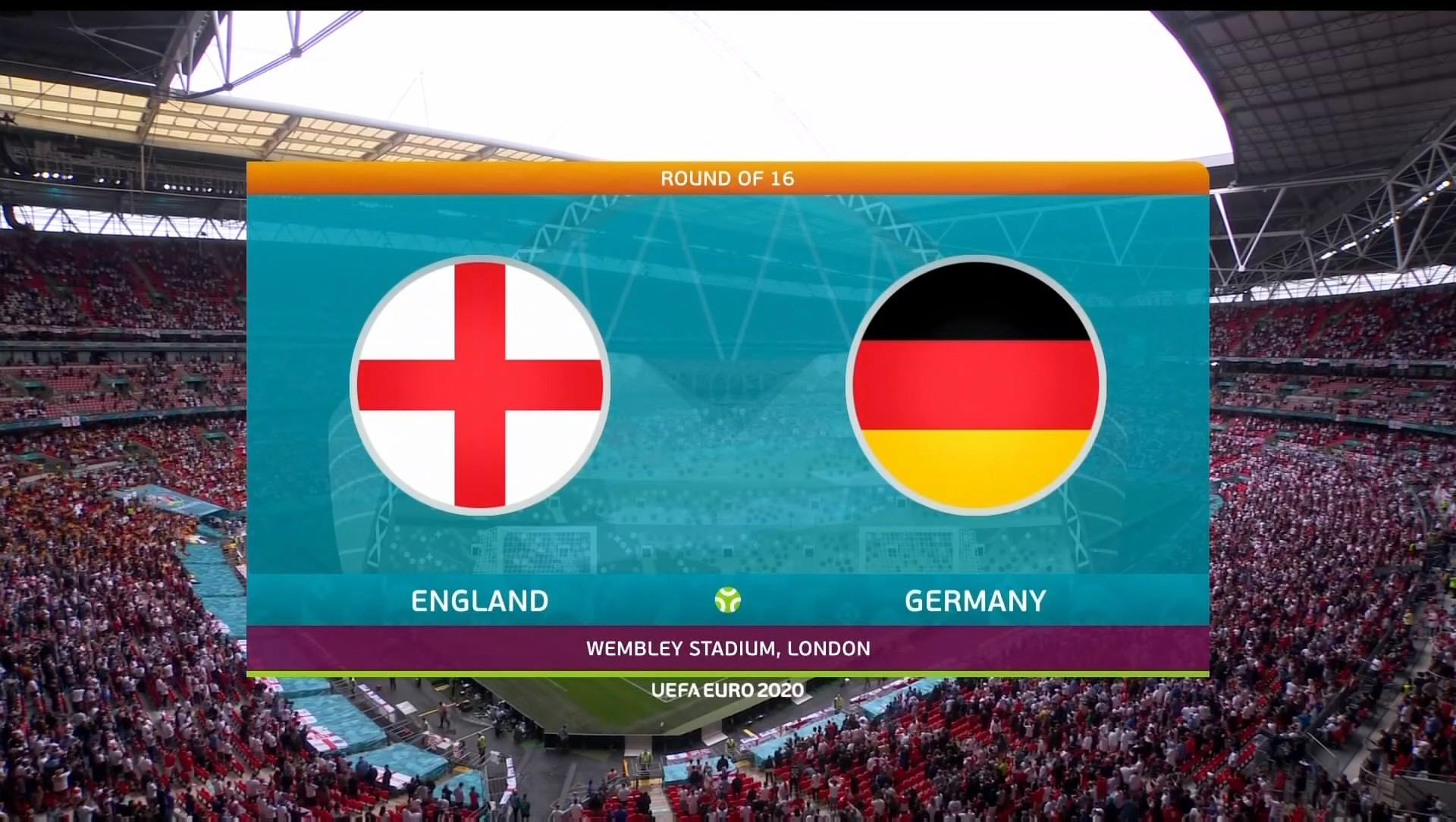 Full match: England vs Germany