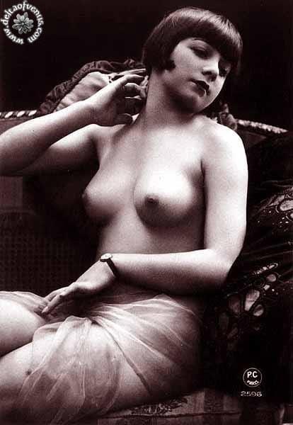Vintage hairy nude-1068