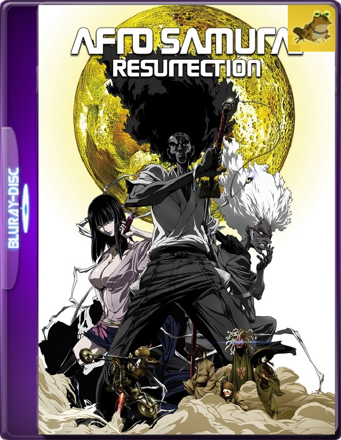 Afro Samurai: Resurrection (2009) Brrip 1080p (60 FPS) Inglés Subtitulado