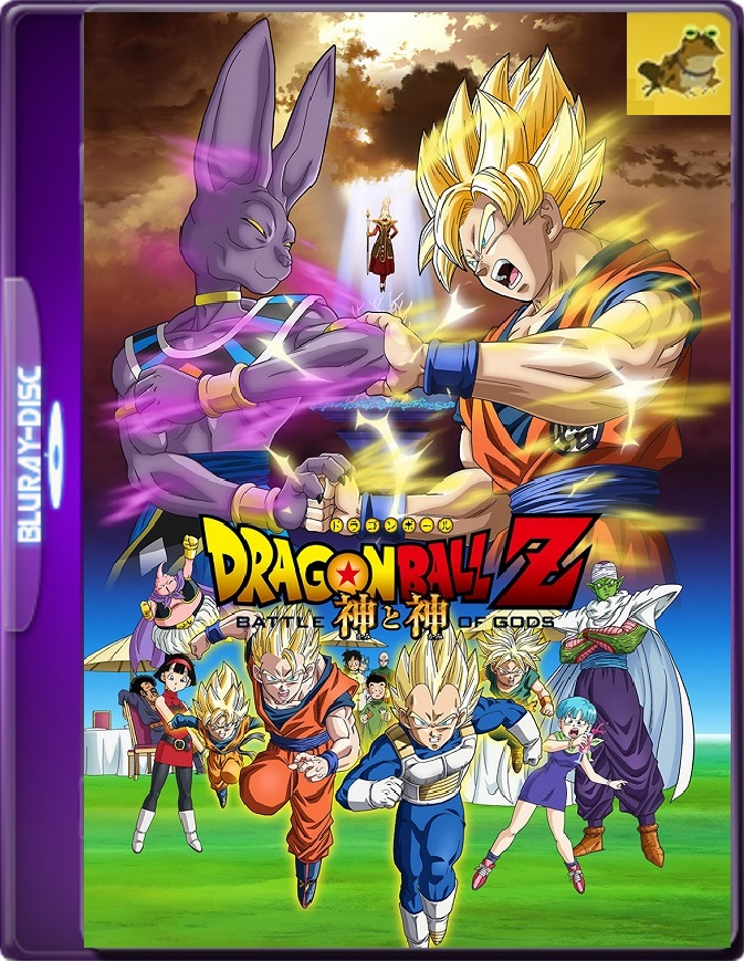 Dragon Ball Z: La Batalla De Los Dioses (2013) Brrip 1080p (60 FPS) Latino