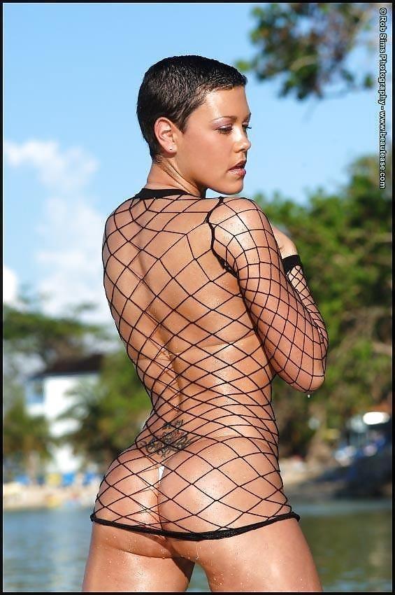Beautiful fit naked women-7965