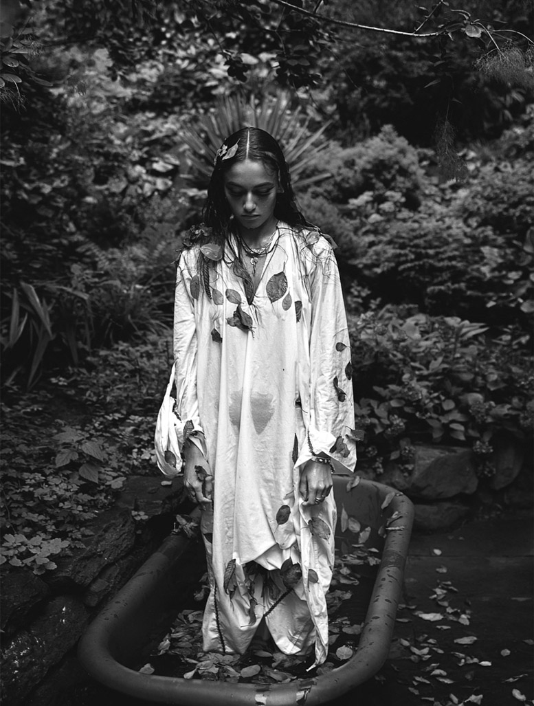On a Harvest Moon / Mary Frey by Mario Sorrenti in Let's Panic issue 4