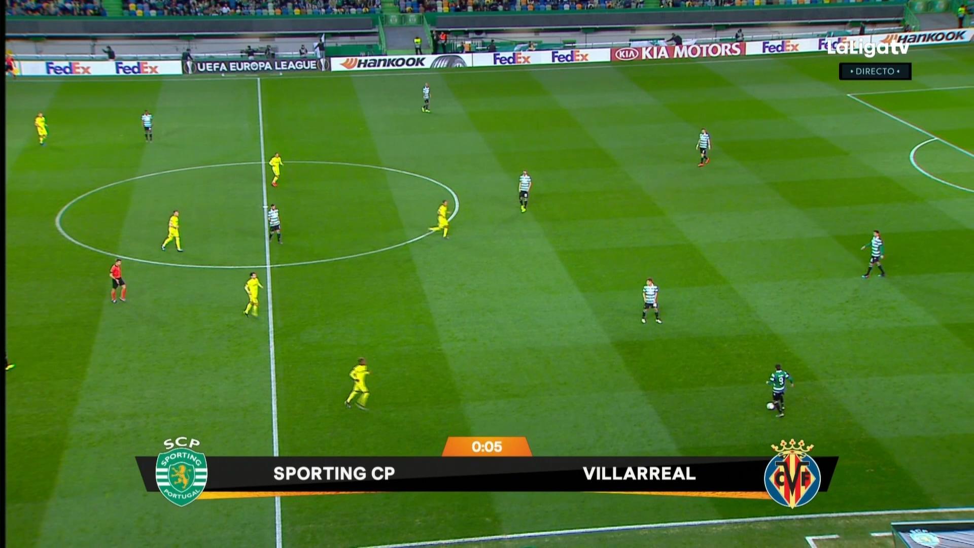 FUTBOL: UEL 18/19 - R32 1st leg - Sporting Lisbon vs