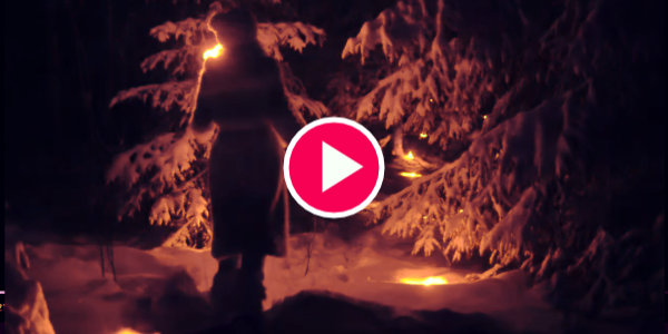 Jonna Jinton shows you what it's like living with the dark winters in Sweden – Midnight sun & Polar night…