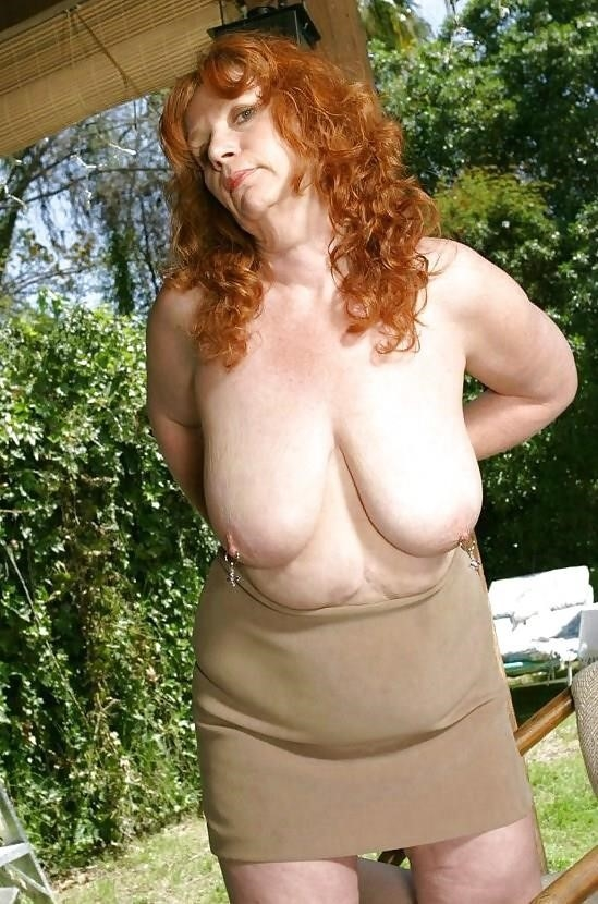 Granny big tit pics-8766