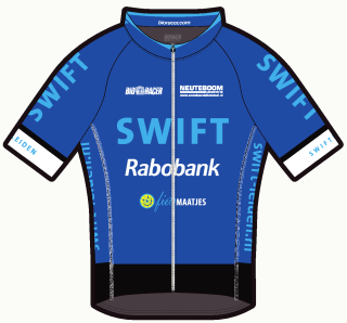 Swift tenue 2017: shirt heren, voorzijde