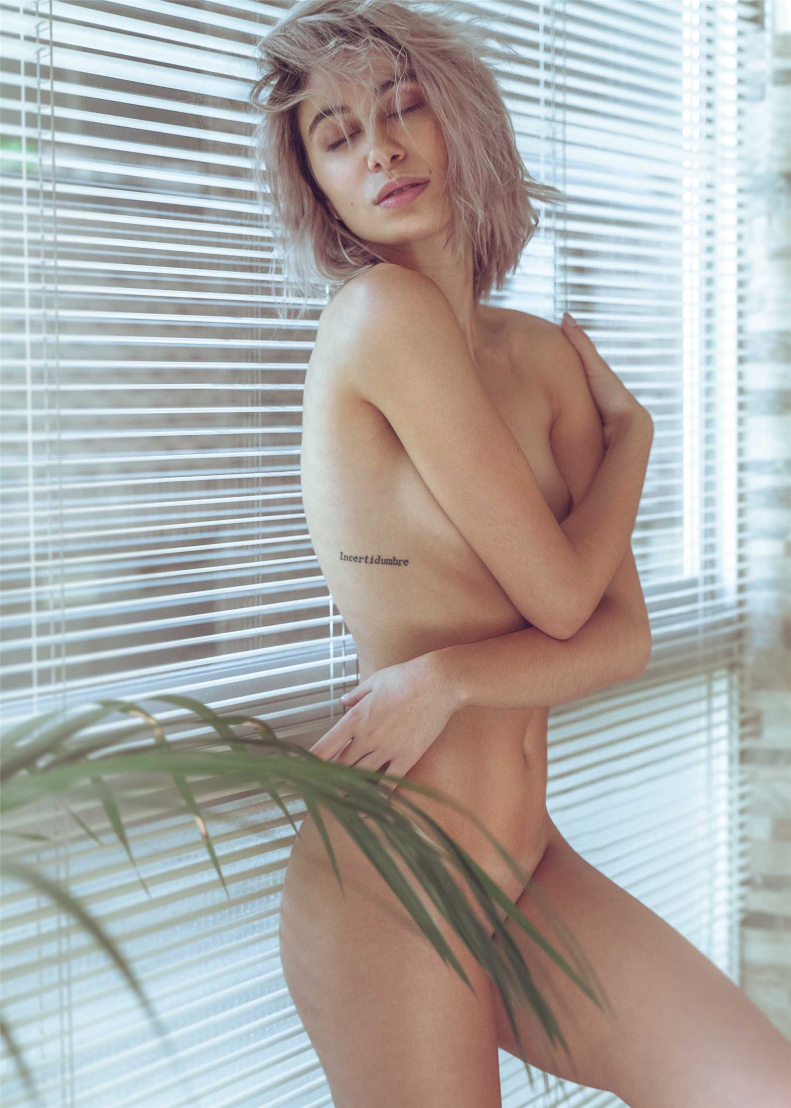 sexy Laura Burguera nude by Angel Vargas