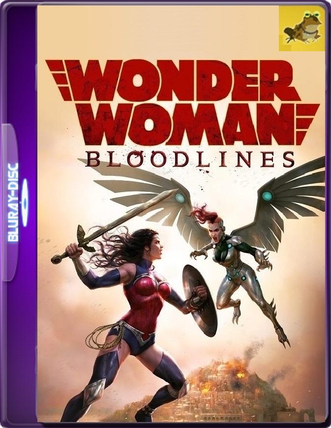 La Mujer Maravilla: Linaje (2019) Brrip 1080p (60 FPS) Latino / Inglés