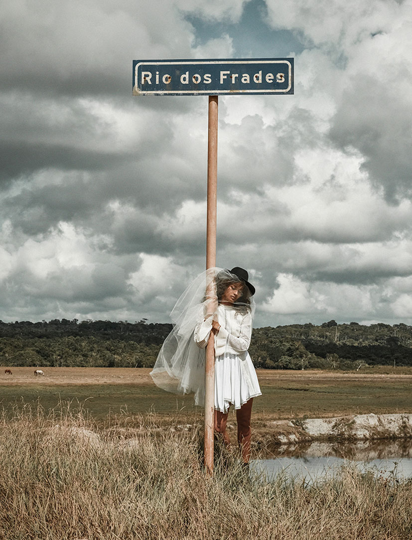 Gracie Carvalho by Zee Nunes / Vogue Brazil june 2015