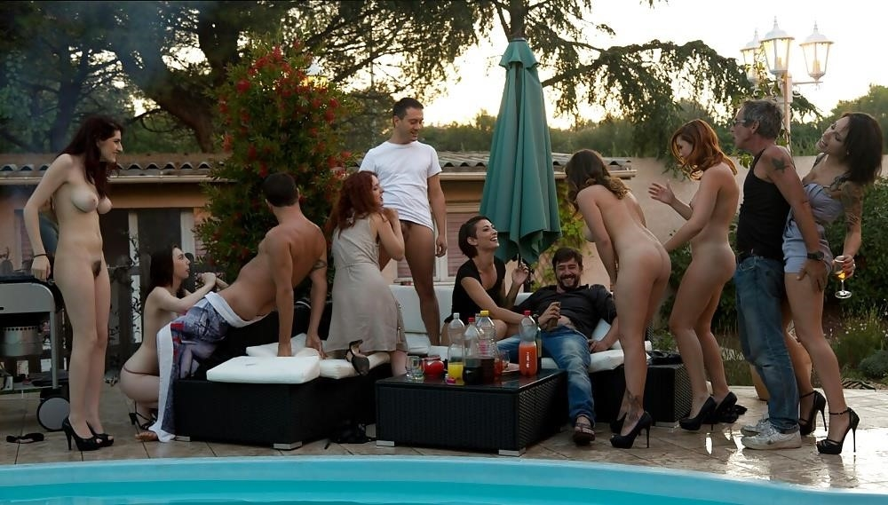 Porn outdoor group-5132