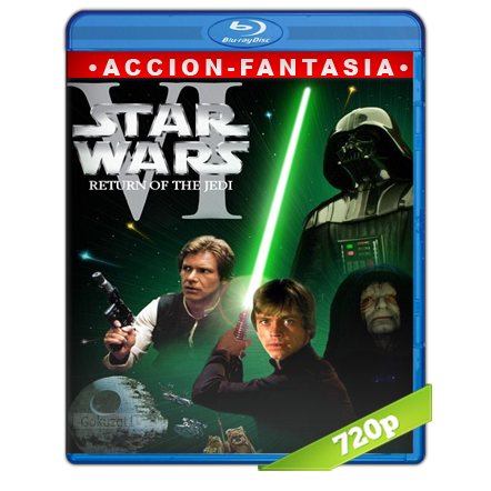 Star Wars Episodio VI El Regreso Del Jedi (1983) BRRip 720p Audio Trial Latino-Castellano-Ingles 5.1