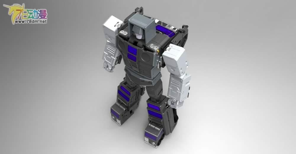 [X-Transbots] Produit Tiers - Jouets Berserkars forme Monolith (MX-XIII à MX-VII) - aka Stunticons forme Menasor/Menaseur - Page 6 S7FM1eYr_o