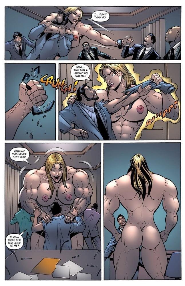 Female muscle big clit-9927