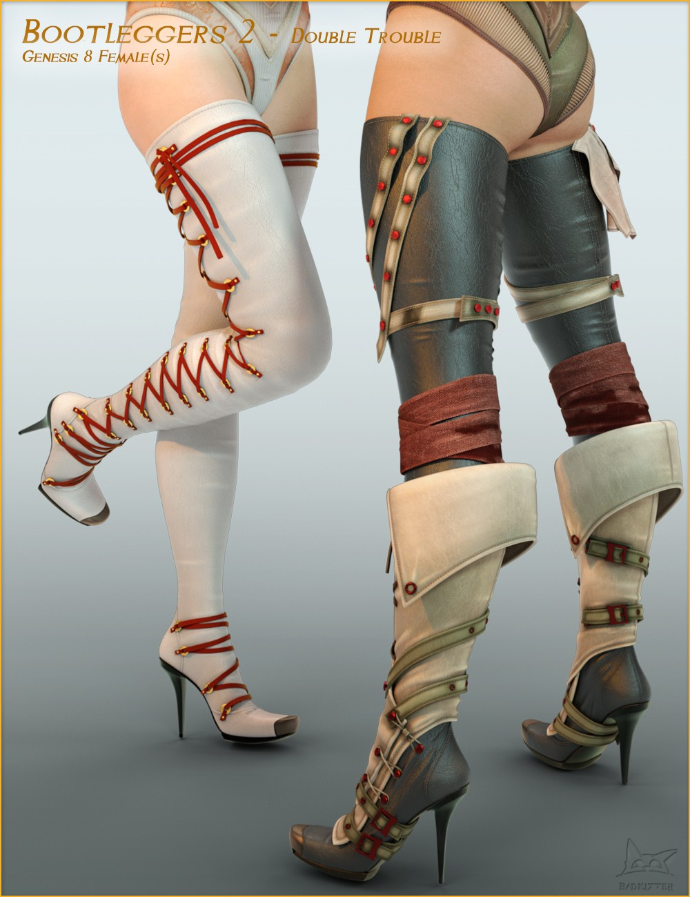 Bootleggers 2 - Double Trouble for Genesis 8 Female(s)