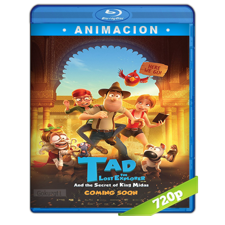 Tadeo Jones 2 El Secreto Del Rey Midas 720p Lat-Cast-Ing[Animación](2017)