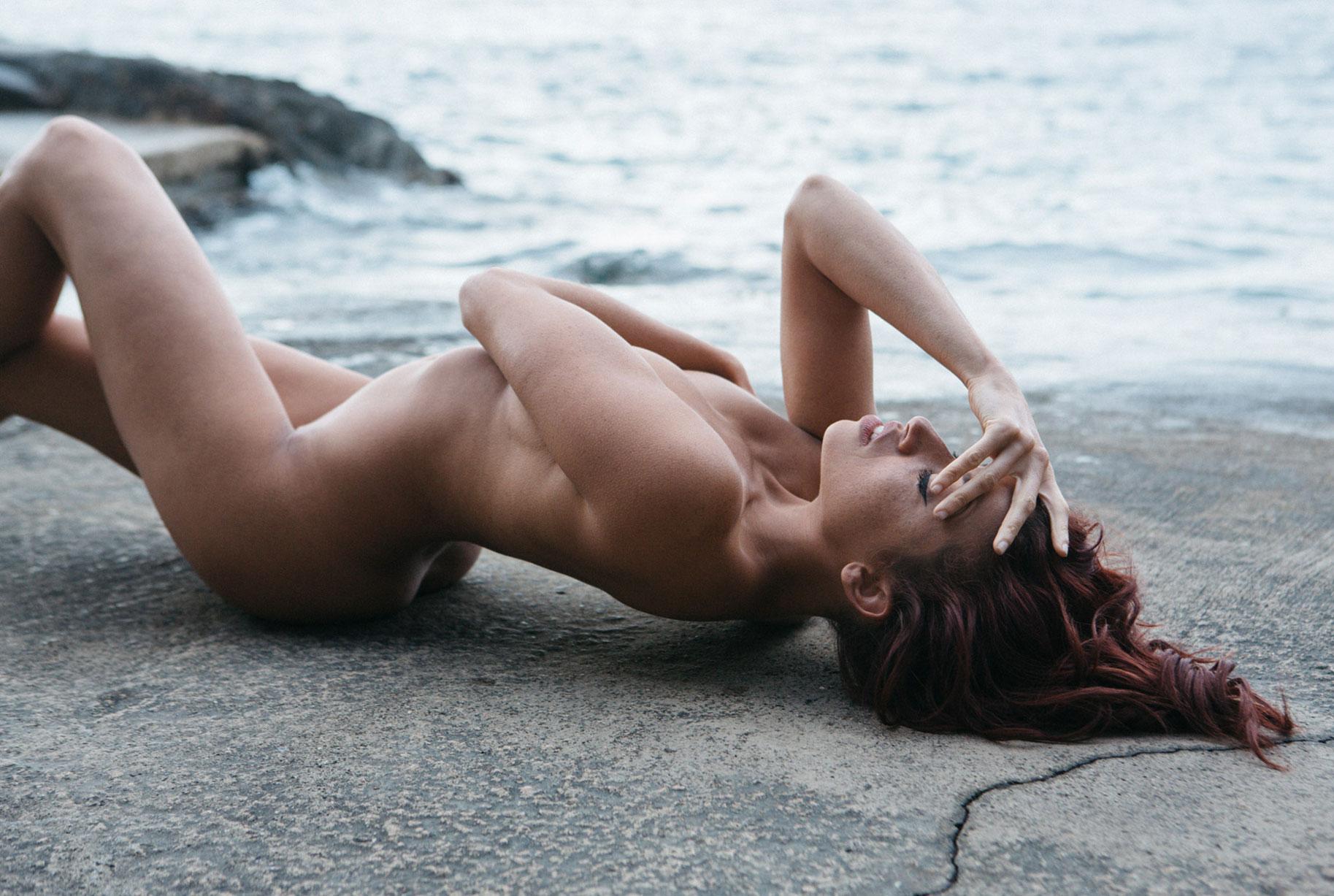 Clara Rene nude by Maxime Besse