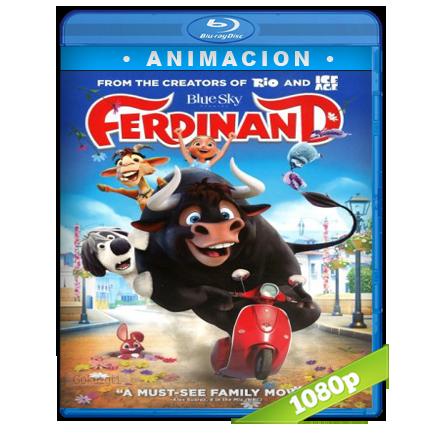 Ole El Viaje De Ferdinand [BDRip m1080p][Trial Lat/Cast/Ing][VS][Animacion](2017)