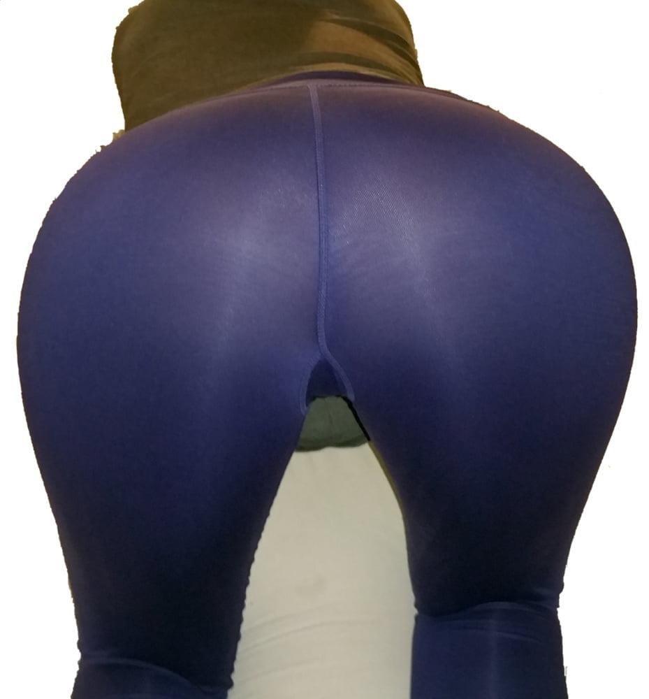 Yoga pants foot fetish-5213