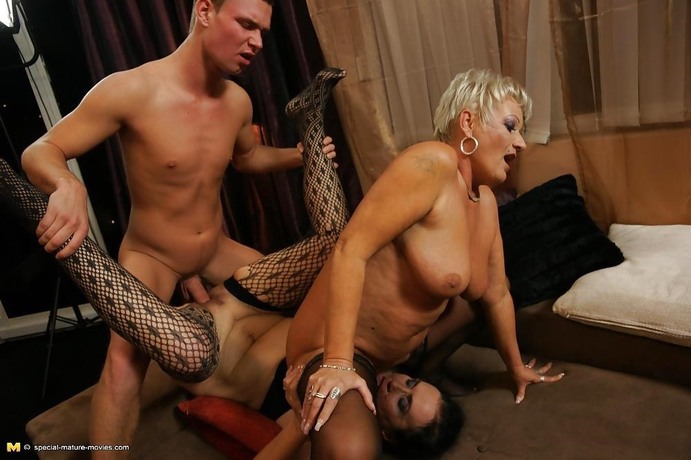 Group sex with mom-9159
