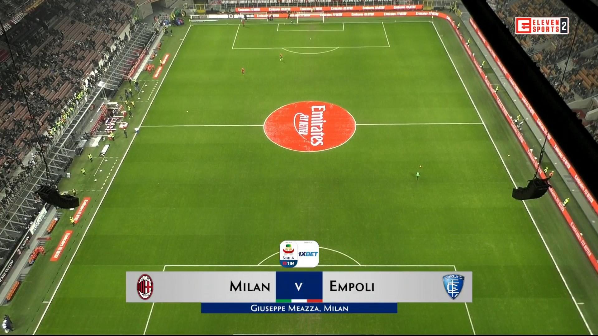 Xem lại: AC Milan vs Empoli