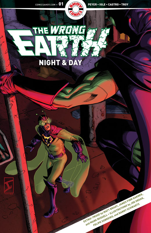 The Wrong Earth - Night and Day 001 (2021)