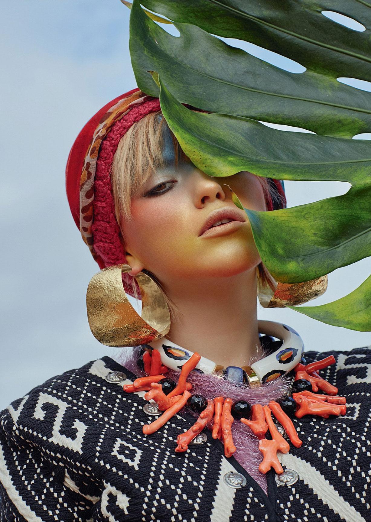 Urban Shamans / Daisy Freyja and Pablo DLacosta by Julia Buruleva