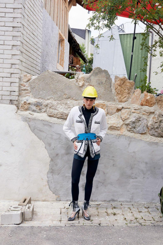 Игры Строителей / Jeux de Construction / Sunniva Vaatevik by Juergen Teller / Vogue Paris august 2018