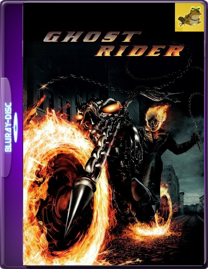 Ghost Rider (2007) Brrip 1080p (60 FPS) Latino / Inglés