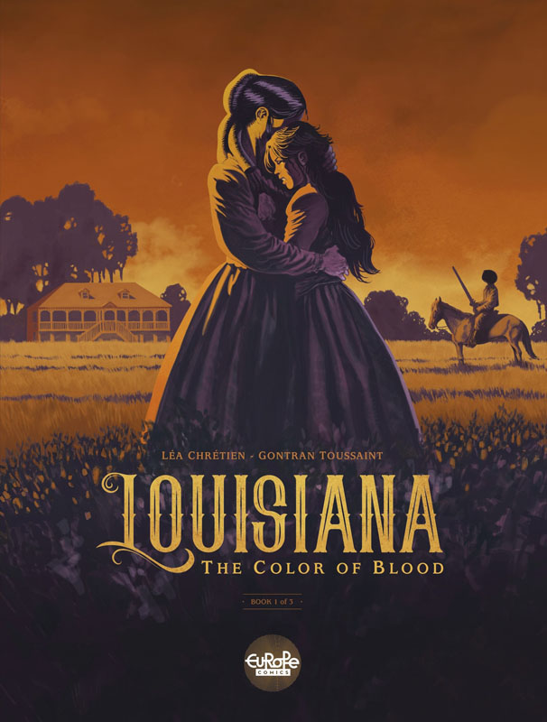 Louisiana 01 - The Color of Blood (Europe Comics 2019)