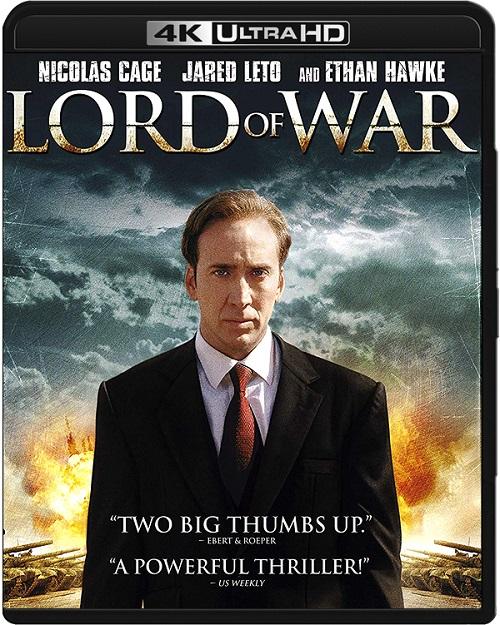 Pan życia i śmierci / Lord of War (2005) MULTi.REMUX.2160p.UHD.Blu-ray.HDR.HEVC.ATMOS7.1-DENDA / LEKTOR i NAPISY PL