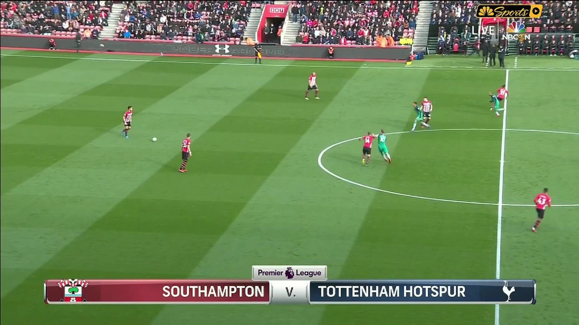 Xem lại: Southampton vs Tottenham Hotspur