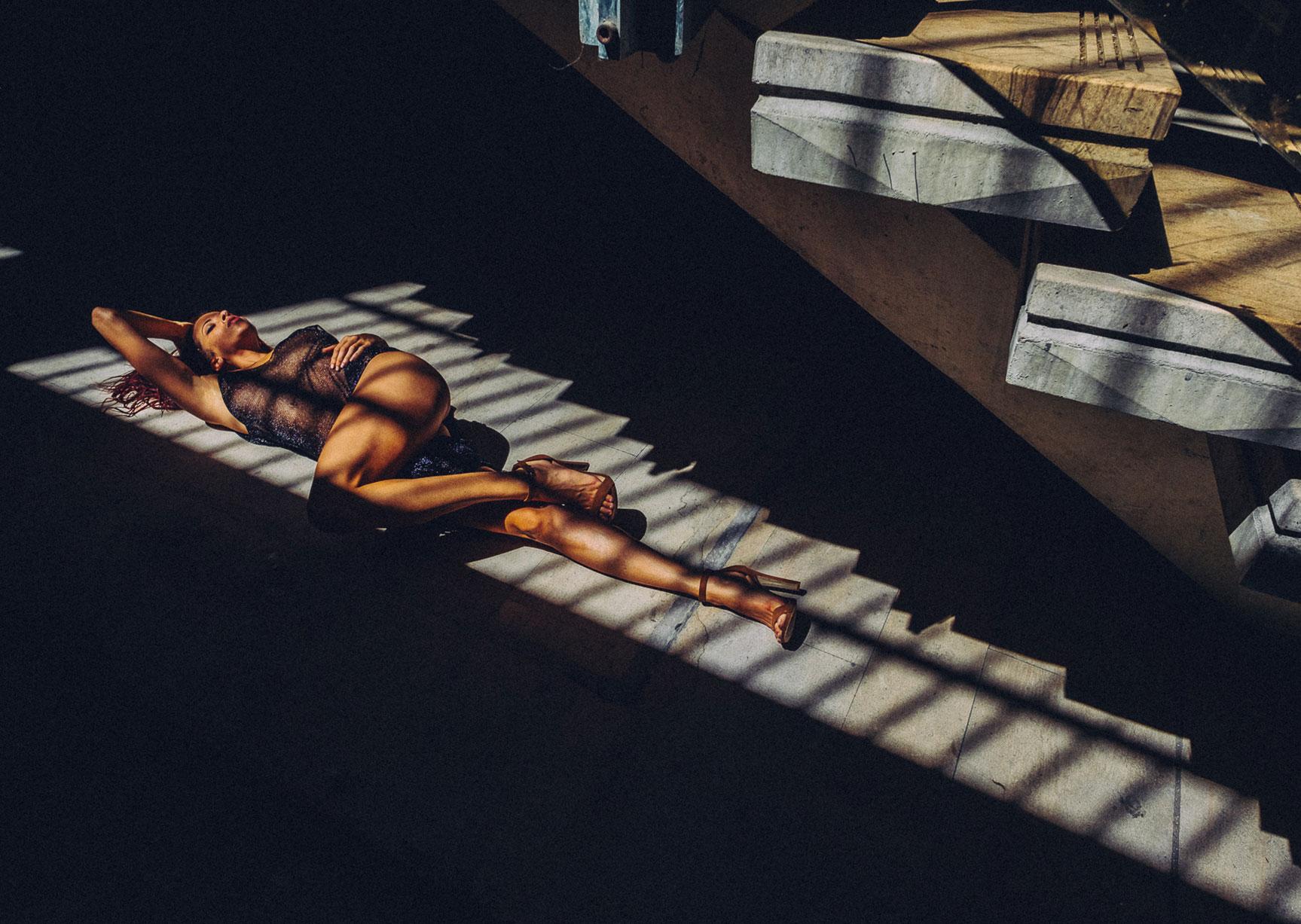 A floor under Heaven / Clara Rene by Yan Senez