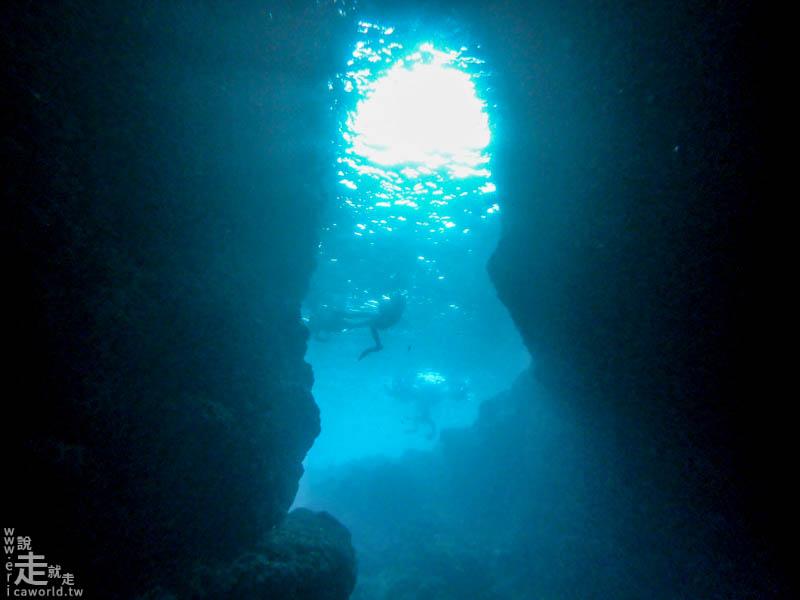 青之洞窟潛水