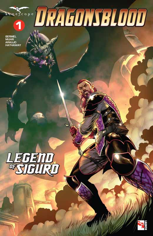 Dragonsblood - Legend of Sigurd #1-4 (2019) Complete