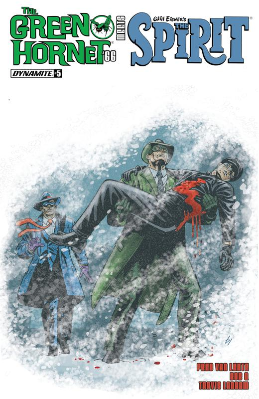 The Green Hornet '66 Meets The Spirit #1-5 (2017) Complete
