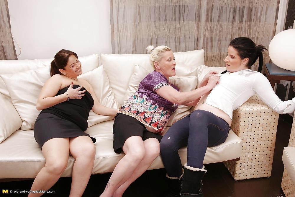 Lesbian grandma orgy-5402