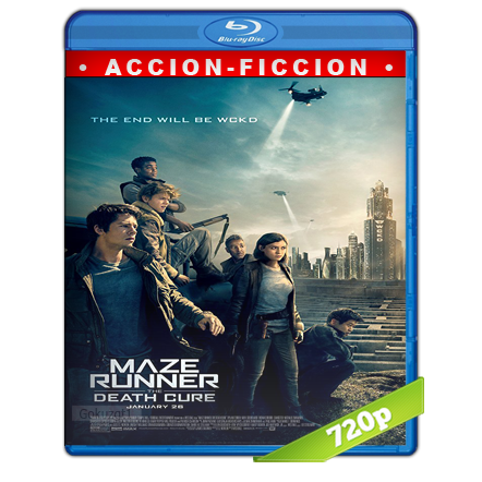 descargar Maze Runner La Cura Mortal 720p Lat-Cast-Ing[Ficcion](2018) gratis