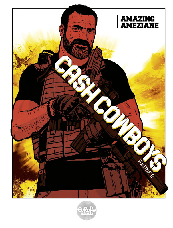 Cash Cowboys v01-v04 (Europe Comics 2019) Complete