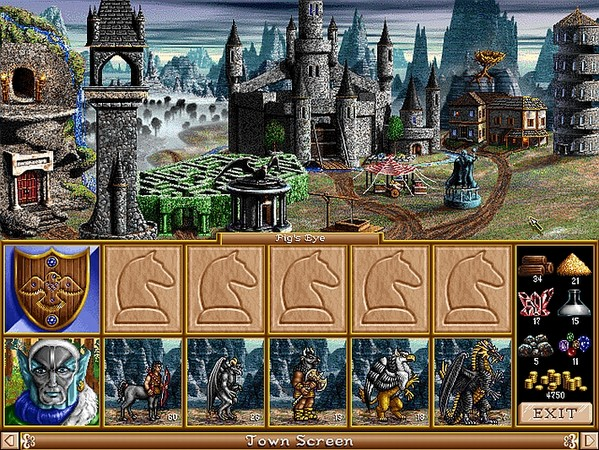 Heroes of Might and Magic 2: Gold Captura 2