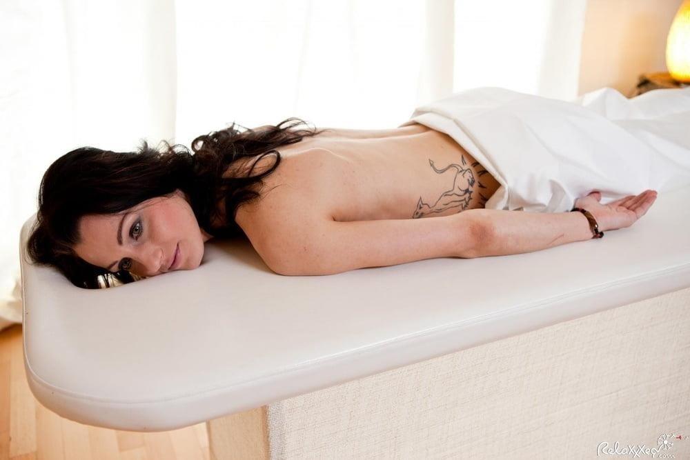 Lesbian hot oil massage-2052