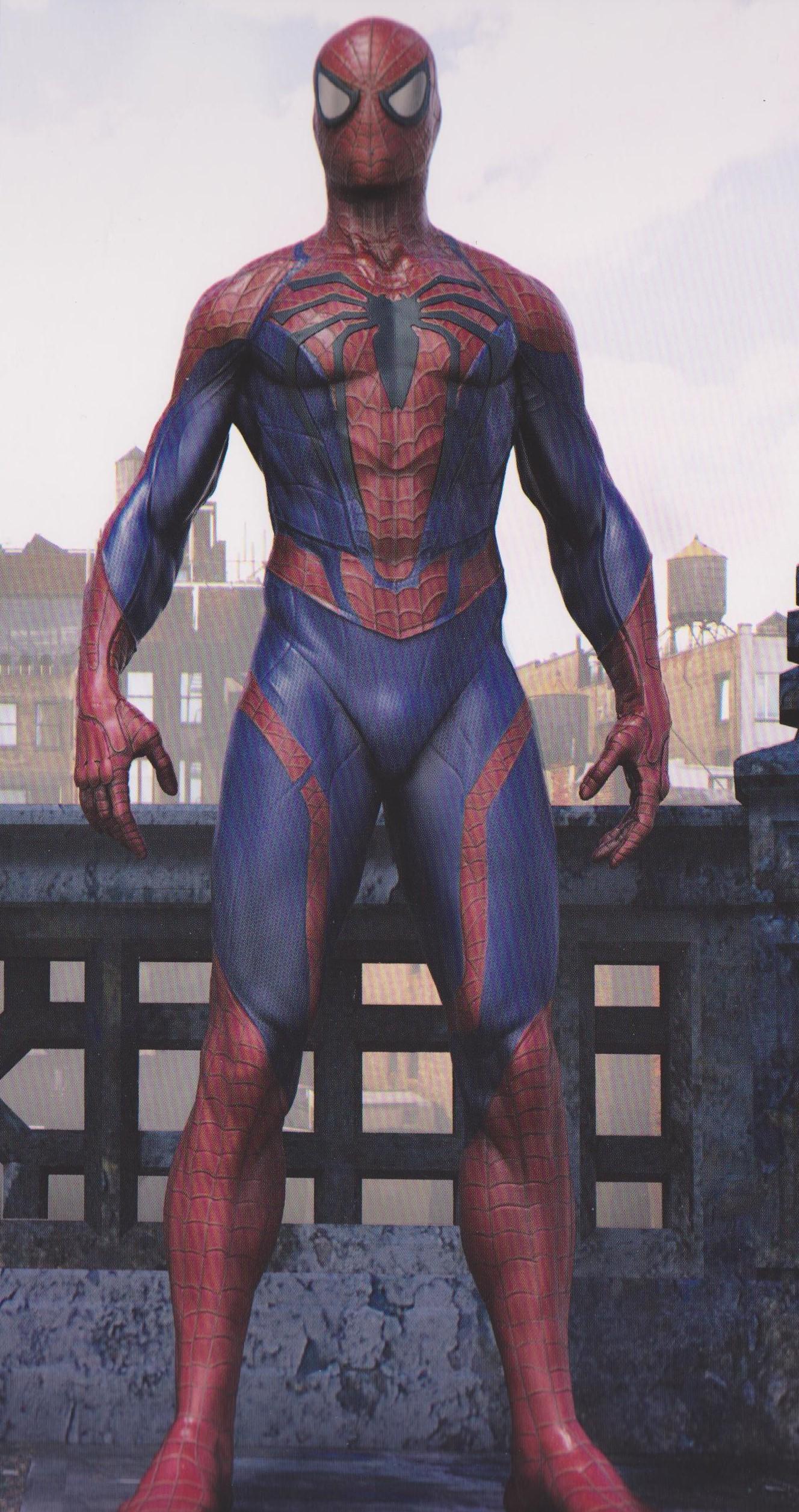 Spider Man Ps4 Concept Art Suit