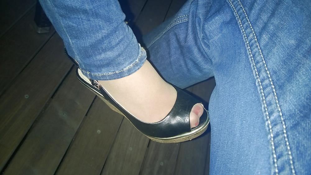 Lesbian foot fetish nylon-3532