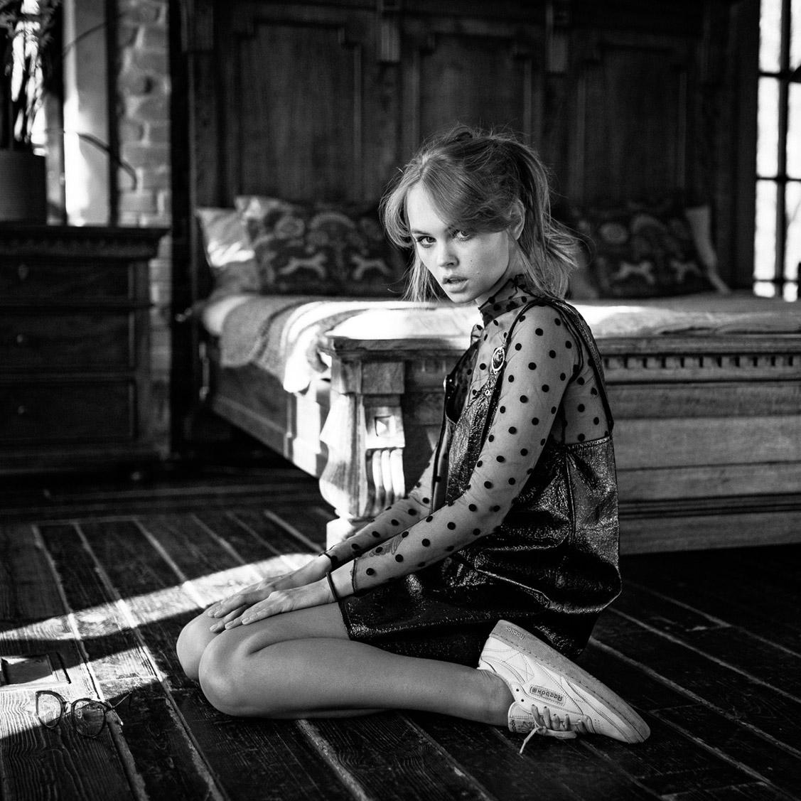 Портрет Анастасии Щегловой, фотограф Георгий Чернядьев / Anastasiya Scheglova by Georgy Chernyadyev