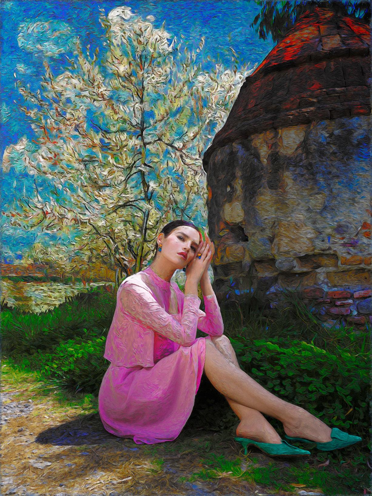 Реклама ювелирных изделий в стиле Ван Гога / фото 05