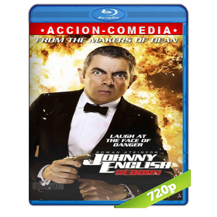 Johnny English 2 Recargado 720p Lat-Cast-Ing[Comedia](2011)
