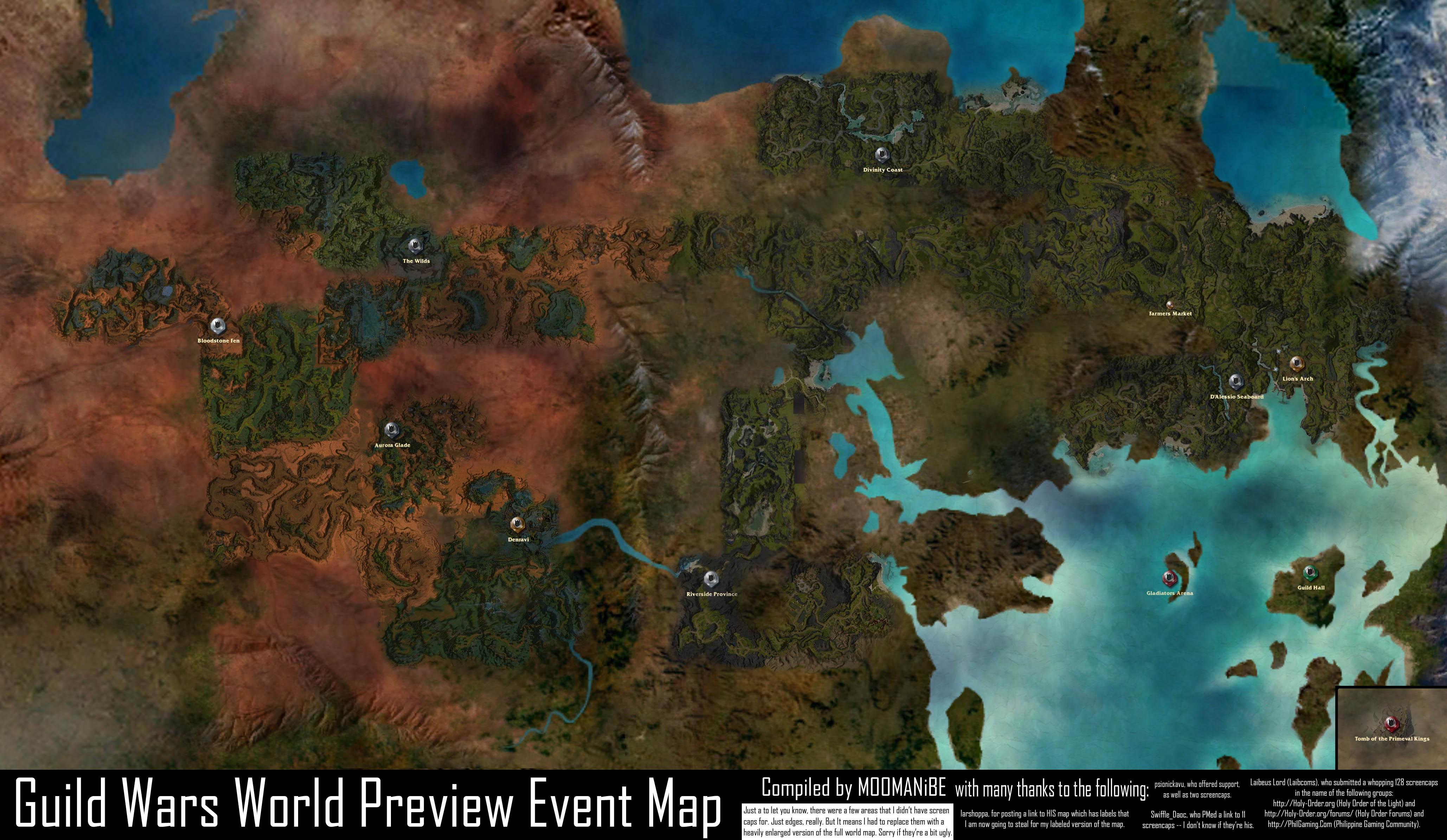 Guild Wars 1 World Map.Guild Wars 1 Memories And Screenshots Image Heavy Resetera
