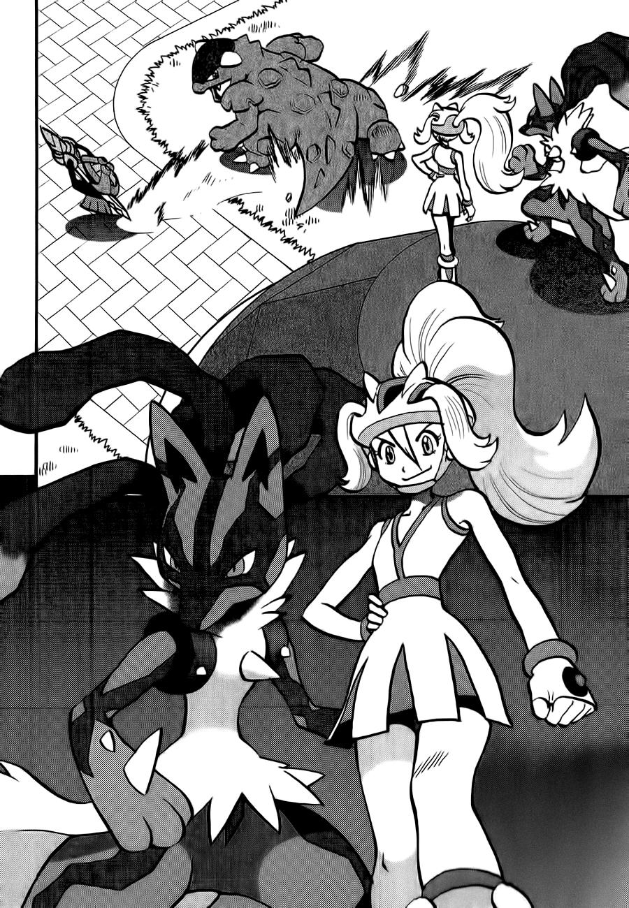 Pokemon Special chap 547 . Next Chap Chap 601
